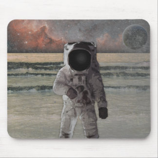 Outer Space Travel Adventure Mouse Mat