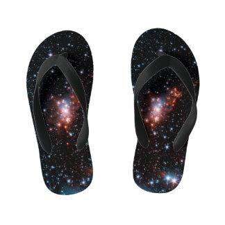 Outerspace Serpens Cloud Kids Flip Flops ~