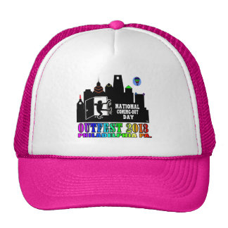 Outfest 2013 Hot pink Trucker Hat