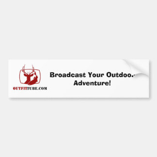 OutfitTube com Bumper Sticker