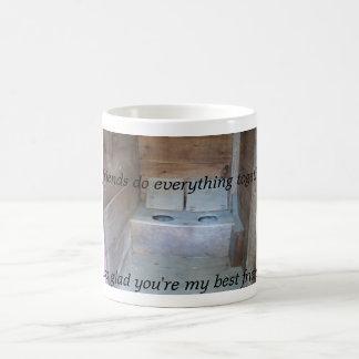 Outhouse Friends Coffee Mug