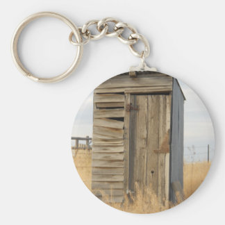 """Outhouse"" Key Ring"