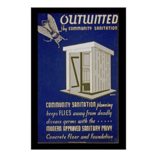 Outhouse Outwitted Poster