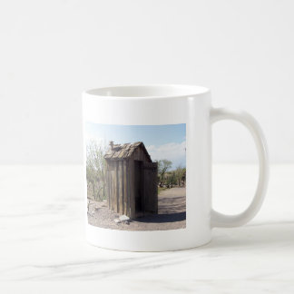 OUTHOUSES BASIC WHITE MUG