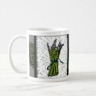 OutlandArts-Asparagus-lino-8.31x3_bev Coffee Mug