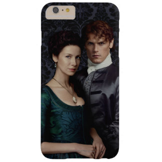 Outlander | Claire And Jamie Damask Portrait Barely There iPhone 6 Plus Case