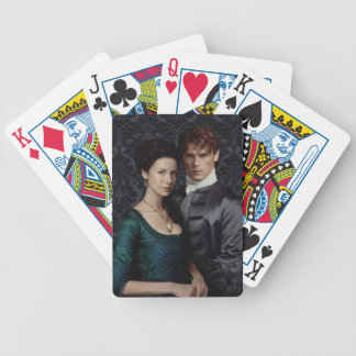 Outlander | Claire And Jamie Damask Portrait Bicycle Playing Cards