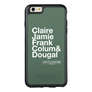Outlander | Claire, Jamie, Frank, Colum & Dougal OtterBox iPhone 6/6s Plus Case