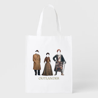 Outlander Costumes Reusable Grocery Bag