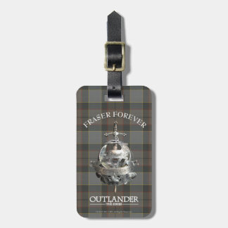 Outlander | Fraser Brooch Luggage Tag
