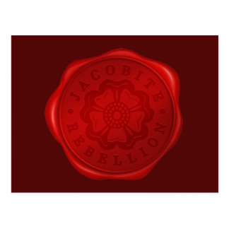 Outlander | Jacobite Rebellion Wax Seal Postcard