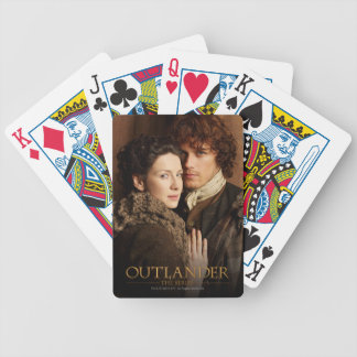 Outlander | Jamie & Claire Embrace Photograph Bicycle Playing Cards