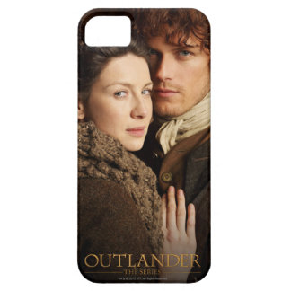 Outlander | Jamie & Claire Embrace Photograph iPhone 5 Cover