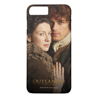 Outlander | Jamie & Claire Embrace Photograph iPhone 8 Plus/7 Plus Case
