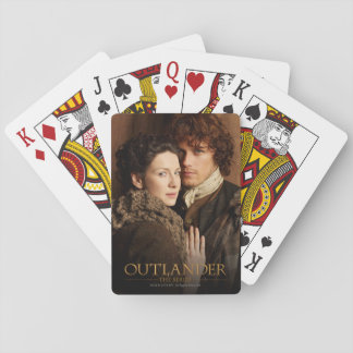 Outlander | Jamie & Claire Embrace Photograph Playing Cards
