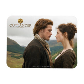 Outlander | Jamie & Claire Face To Face Magnet