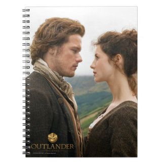 Outlander | Jamie & Claire Face To Face Notebooks