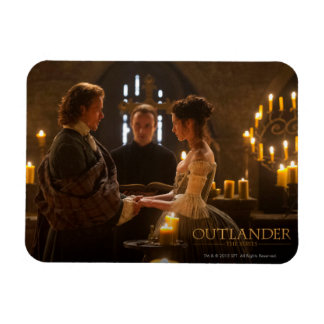 Outlander | Jamie & Claire's Wedding Magnet
