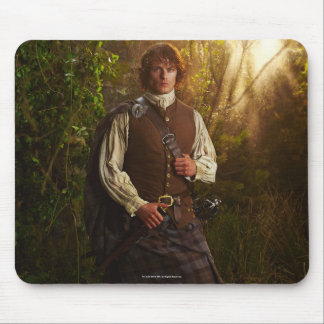 Outlander | Jamie Fraser - In Woods Mouse Mat
