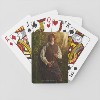 Outlander | Jamie Fraser - In Woods Playing Cards