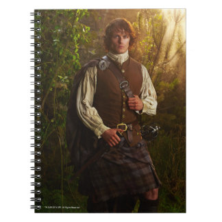 Outlander | Jamie Fraser - In Woods Spiral Notebook