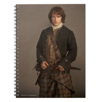 Outlander | Jamie Fraser - Kilt Portrait Notebook