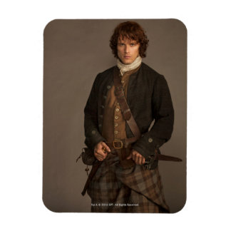 Outlander | Jamie Fraser - Kilt Portrait Rectangular Photo Magnet