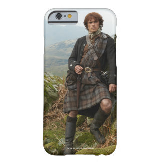 Outlander | Jamie Fraser - Leaning On Rock Barely There iPhone 6 Case