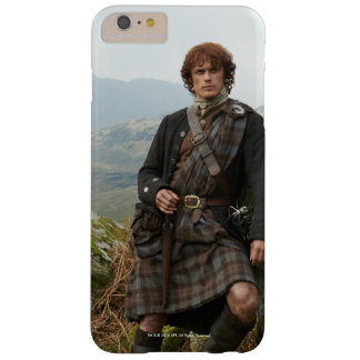 Outlander | Jamie Fraser - Leaning On Rock Barely There iPhone 6 Plus Case
