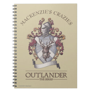 Outlander |MacKenzie Crest Notebook