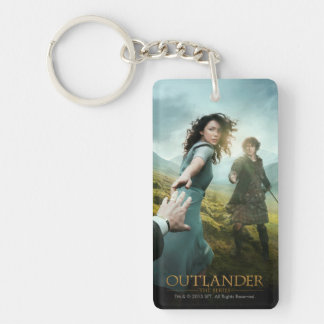 Outlander | Outlander Season 1 Double-Sided Rectangular Acrylic Key Ring