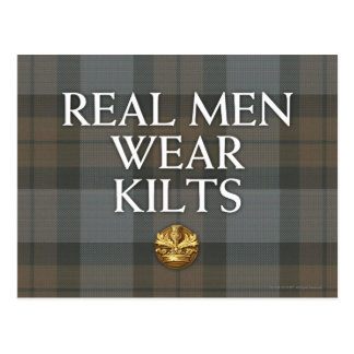 Outlander | Real Men Wear Kilts Postcard