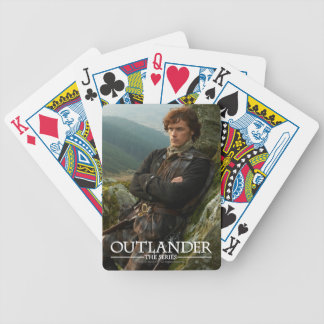 Outlander | Reclining Jamie Fraser Photograph Bicycle Playing Cards