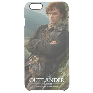 Outlander | Reclining Jamie Fraser Photograph Clear iPhone 6 Plus Case