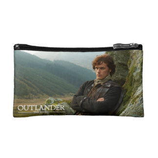 Outlander | Reclining Jamie Fraser Photograph Cosmetic Bags