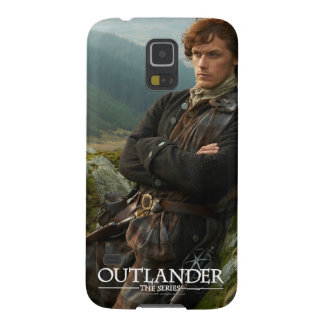 Outlander | Reclining Jamie Fraser Photograph Galaxy S5 Cases