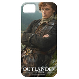 Outlander | Reclining Jamie Fraser Photograph iPhone 5 Cover