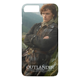 Outlander | Reclining Jamie Fraser Photograph iPhone 8 Plus/7 Plus Case