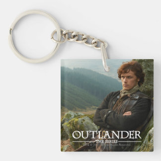 Outlander | Reclining Jamie Fraser Photograph Key Ring