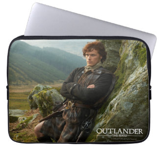 Outlander | Reclining Jamie Fraser Photograph Laptop Sleeve
