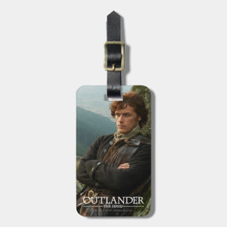 Outlander | Reclining Jamie Fraser Photograph Luggage Tag