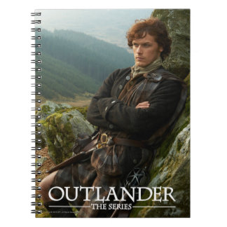 Outlander | Reclining Jamie Fraser Photograph Notebook
