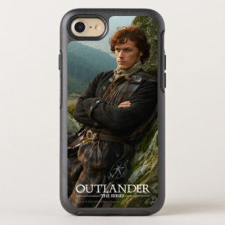 Outlander | Reclining Jamie Fraser Photograph OtterBox Symmetry iPhone 8/7 Case