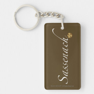 "Outlander | ""Sassenach"" Key Ring"