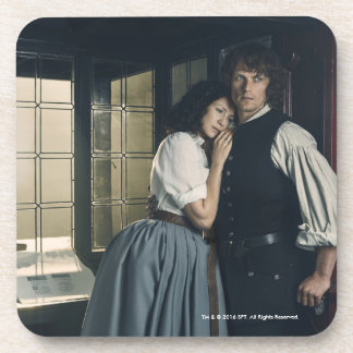 Outlander Season 3 | Jamie and Claire Affection Coaster