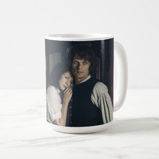 Outlander Season 3 | Jamie and Claire Affection Coffee Mug