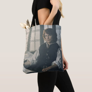 Outlander Season 3 | Jamie Fraser Reading Tote Bag
