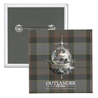 Outlander | The Fraser Brooch 15 Cm Square Badge