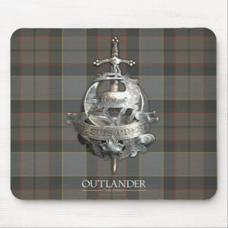 Outlander | The Fraser Brooch Mouse Mat
