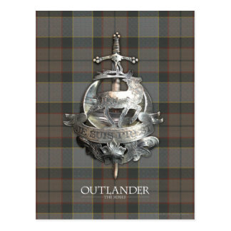 Outlander | The Fraser Brooch Postcard